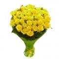 31 желтая роза