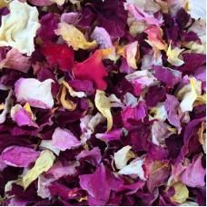 Сухие лепестки роз чайных (Объем: 1 литр)
