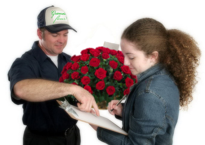 Доставка цветов в офис