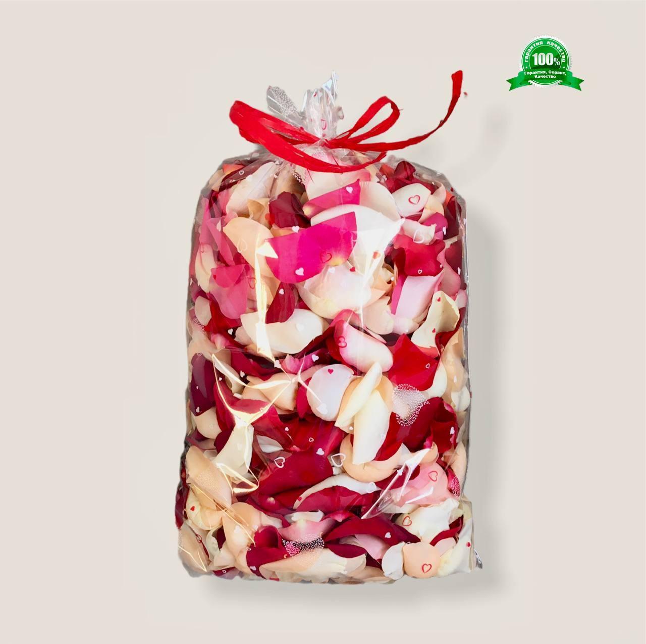 лепестки роз натуральные